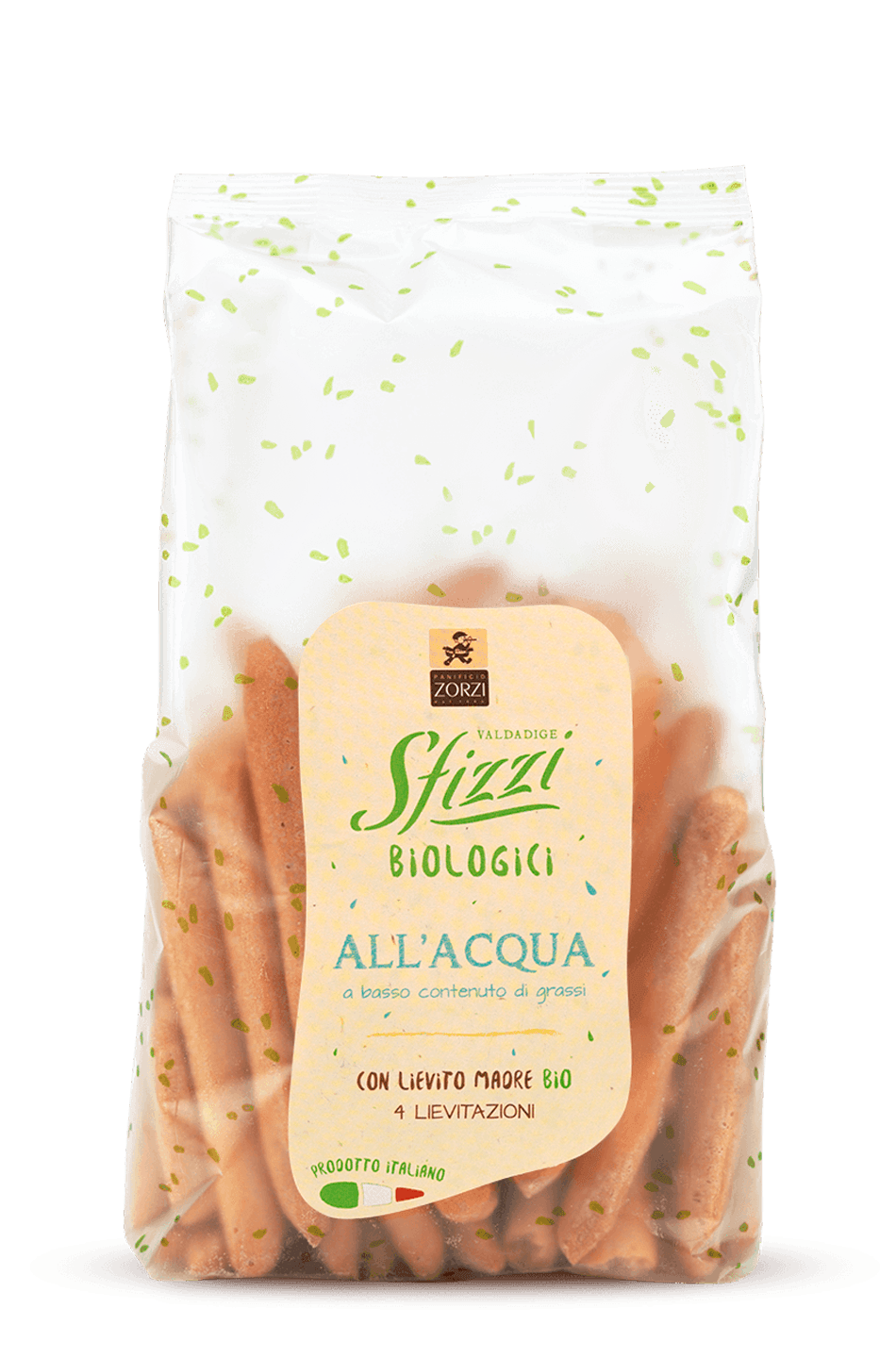 Low Fat Organic Sfizzi Mini Breadsticks