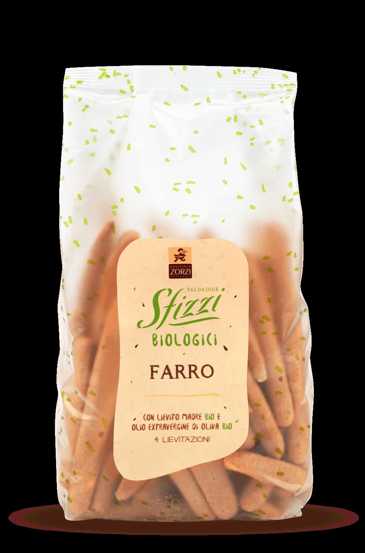 Spelt Organic Sfizzi Mini Breadsticks