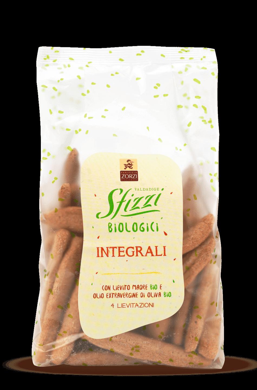 Whole Wheat Organic Sfizzi Mini Breadsticks