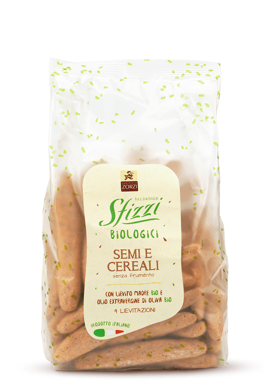 Seeds and Cereals Organic Sfizzi Mini Breadsticks