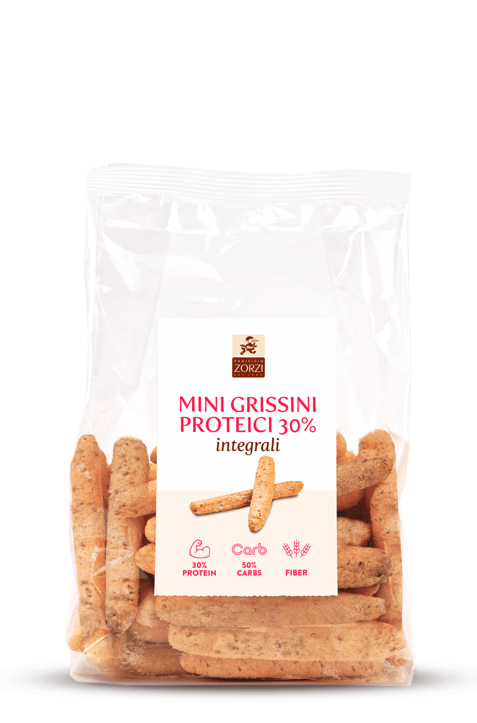 Whole Wheat Stone Ground High Protein Breadsticks