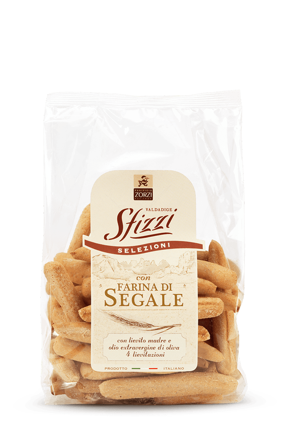 Rye Sfizzi Mini Breadsticks