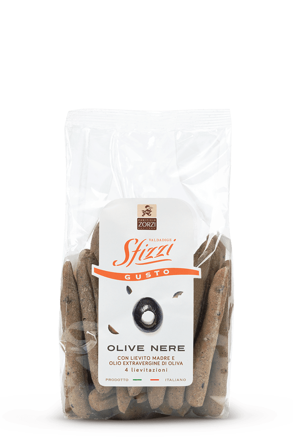 Black Olives Sfizzi Mini Breadsticks