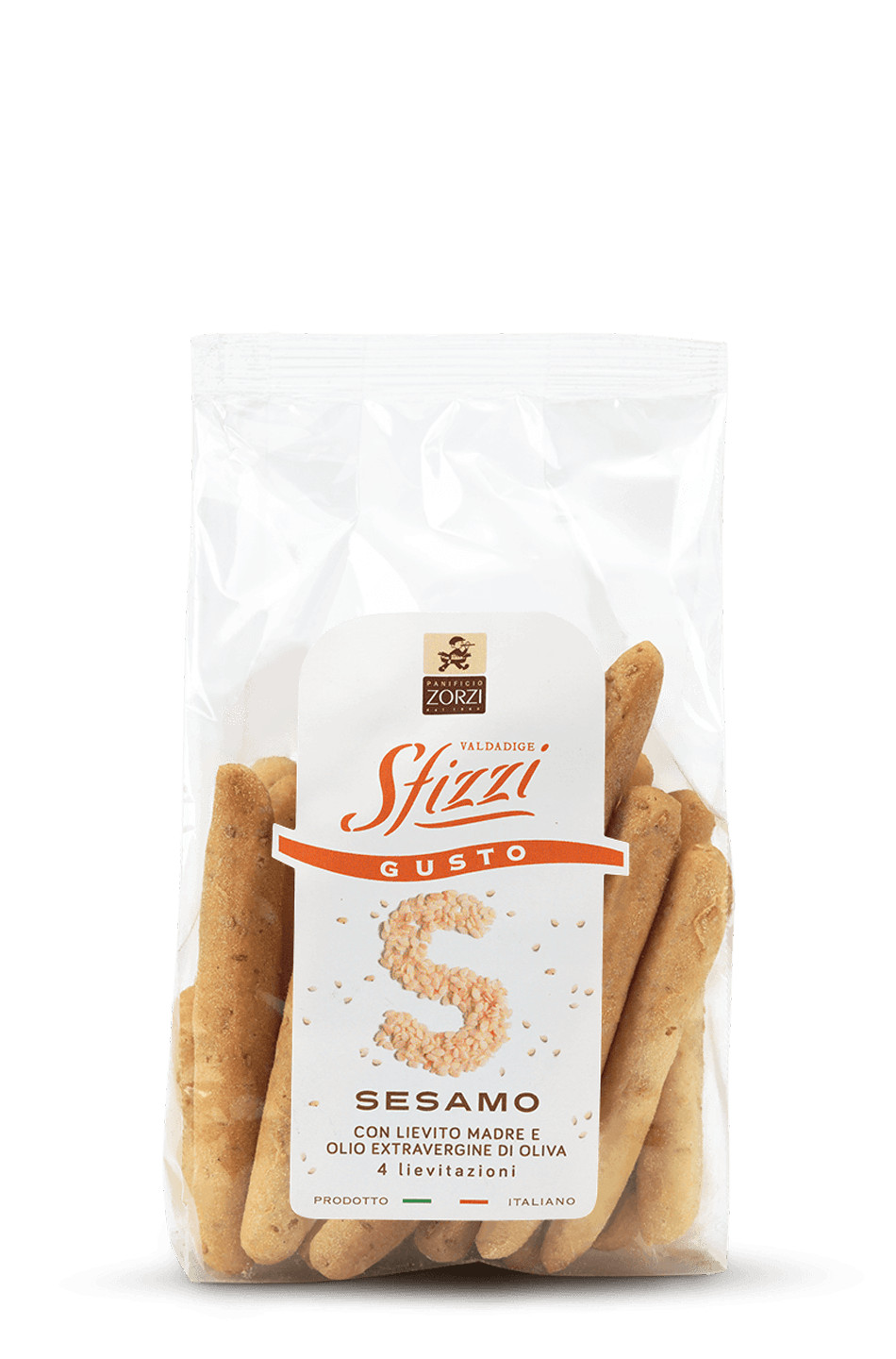 Sesame Sfizzi Mini Breadsticks