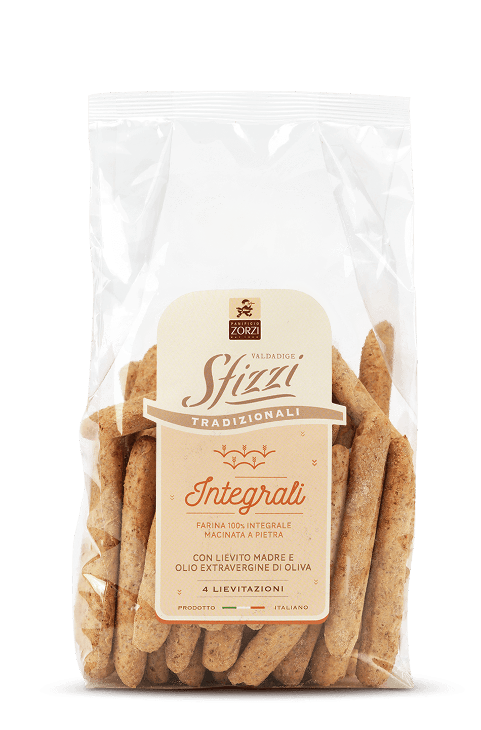 Whole Wheat Sfizzi Mini Breadsticks